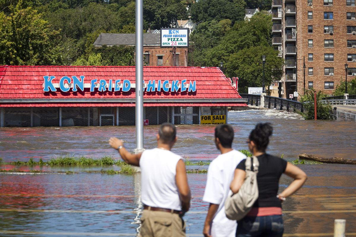 Cresting Flood Waters Continue To Threaten Areas of New Jersey