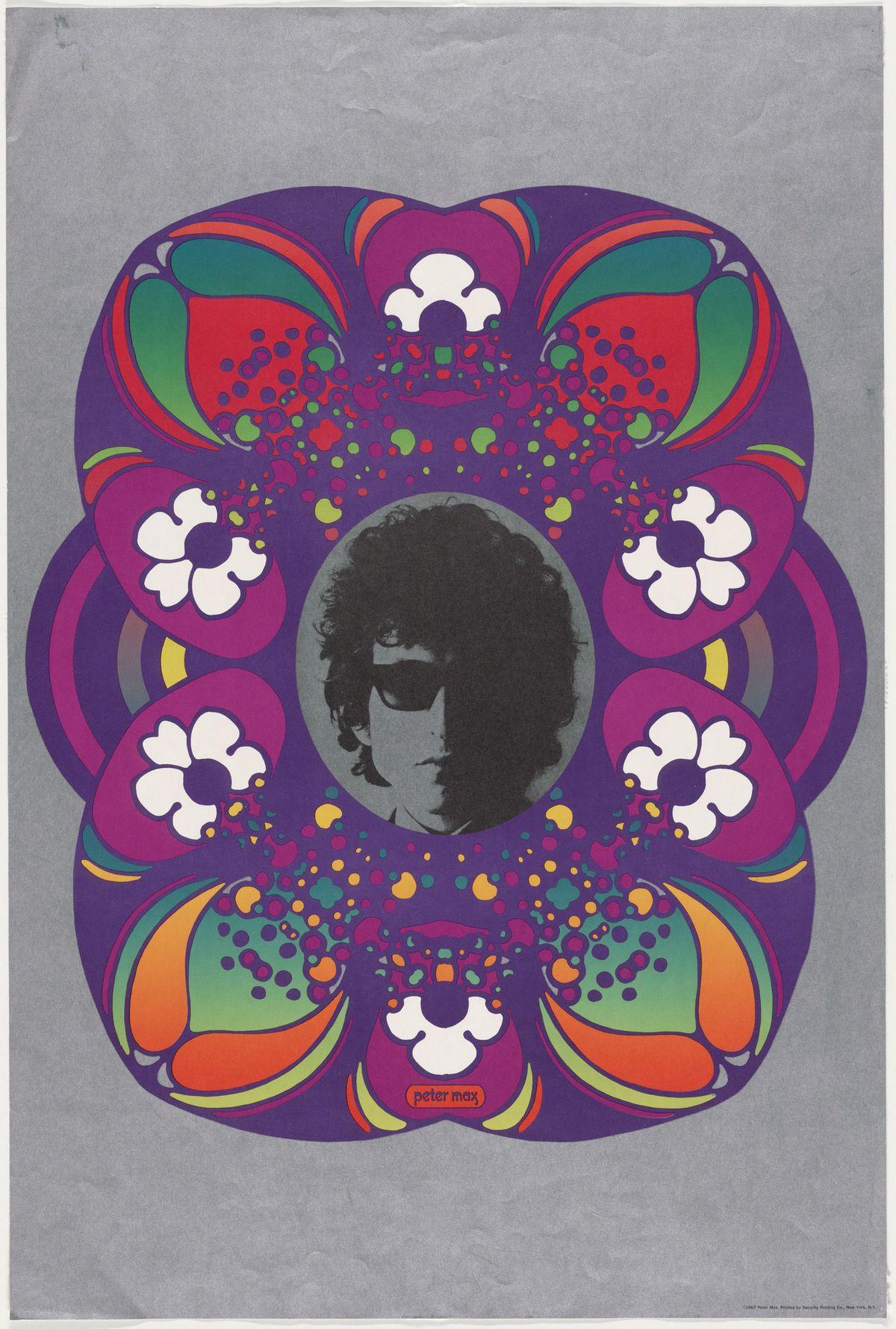 1967 portrait of Bob Dylan