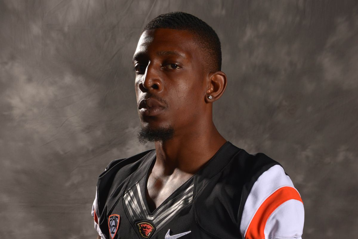 Storm Barrs-Woods will have to carry a lot of the offensive load for Oregon St. this season.