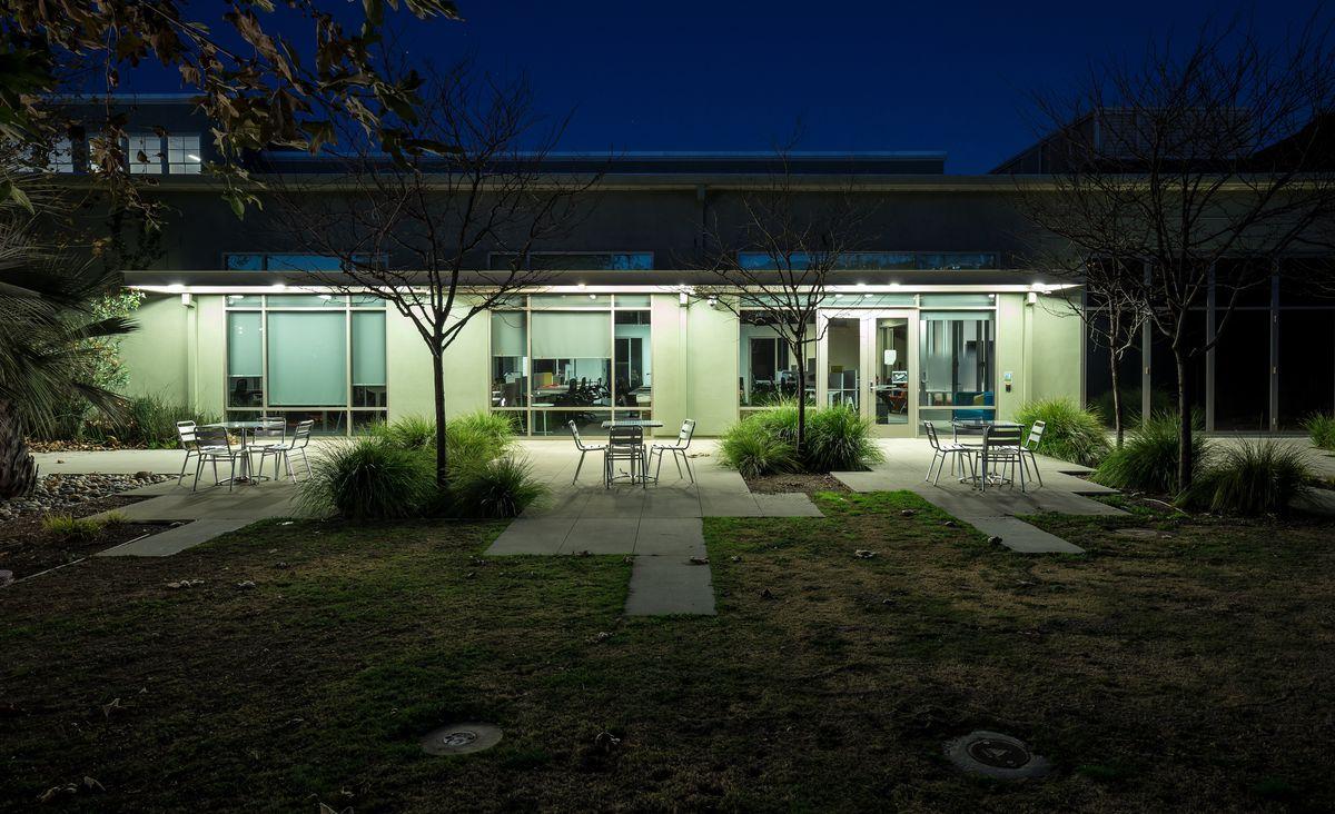 The side of the former Kojima Productions LA studio