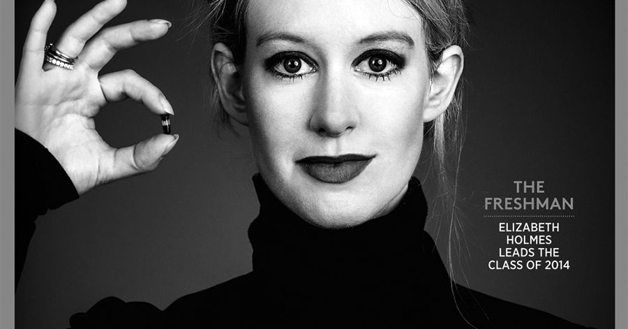 The too-good-to-be-true company's CEO, Elizabeth Holmes, was obsessed with Apple co-founder Steve Jobs.