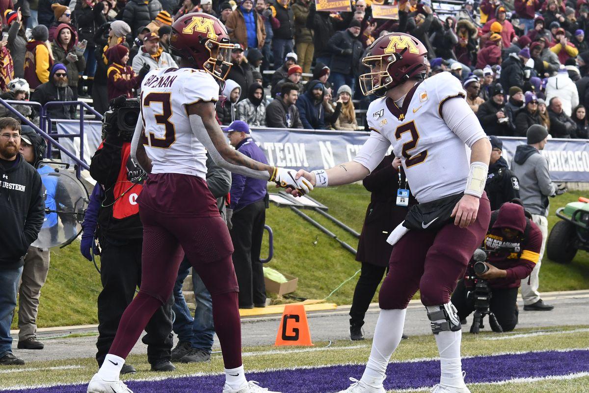 NCAA Football: Minnesota at Northwestern