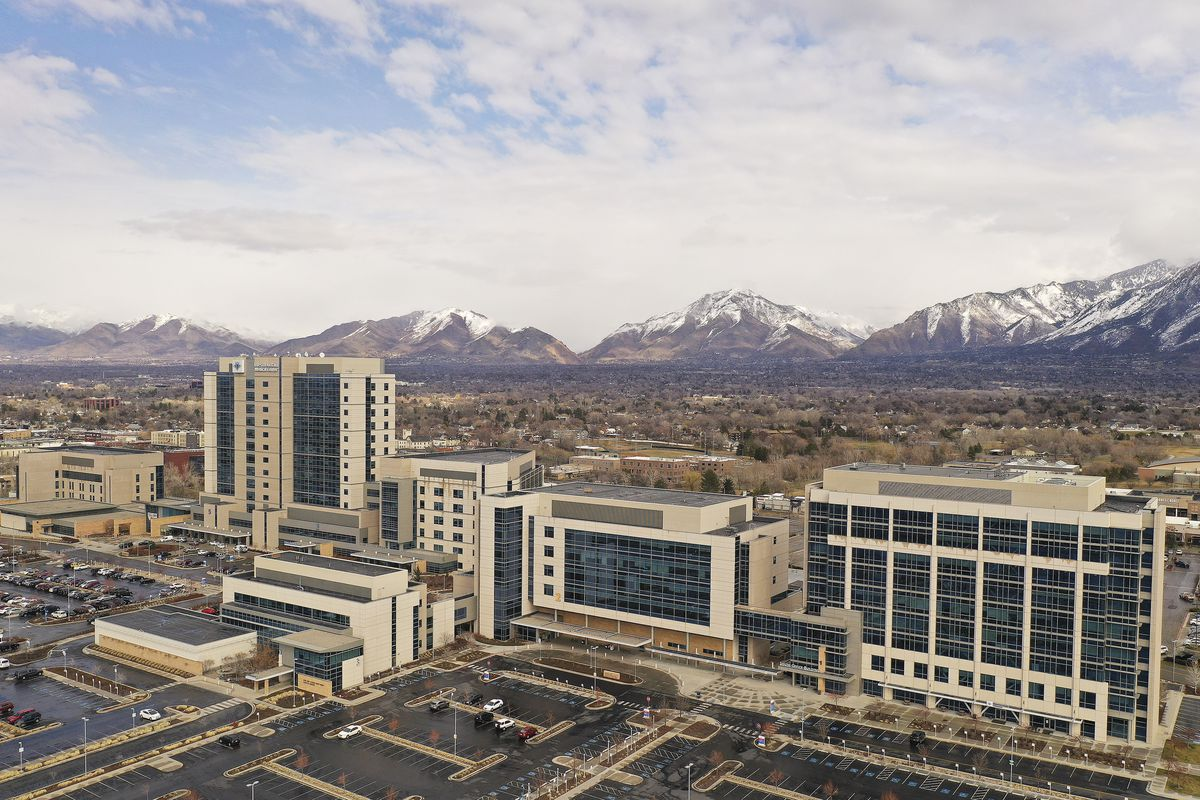 Intermountain Medical Center in Murray is pictured on Sunday March 8, 2020.