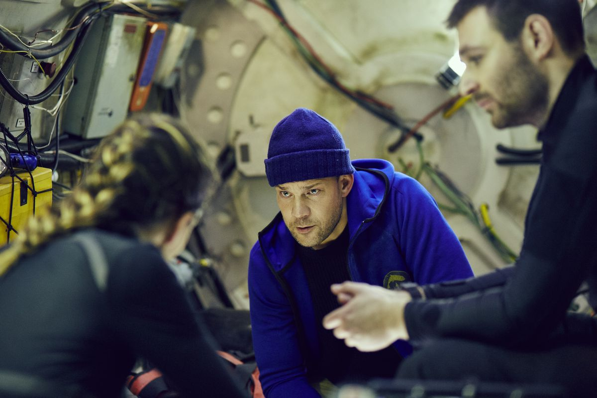 The Chamber Is A New Film Set In A Sinking Submarine The Verge
