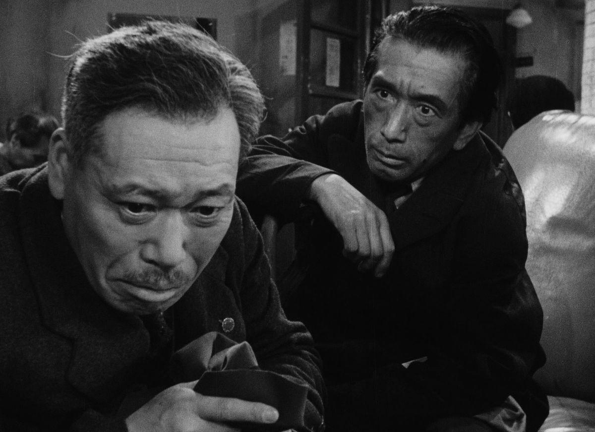 Takashi Shimura learning of his illness