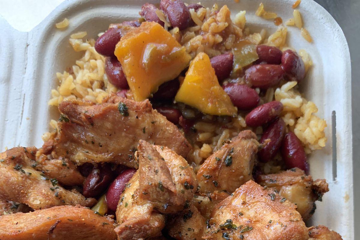A Puerto Rican Food Truck Boriqua Kitchen Is Serving The