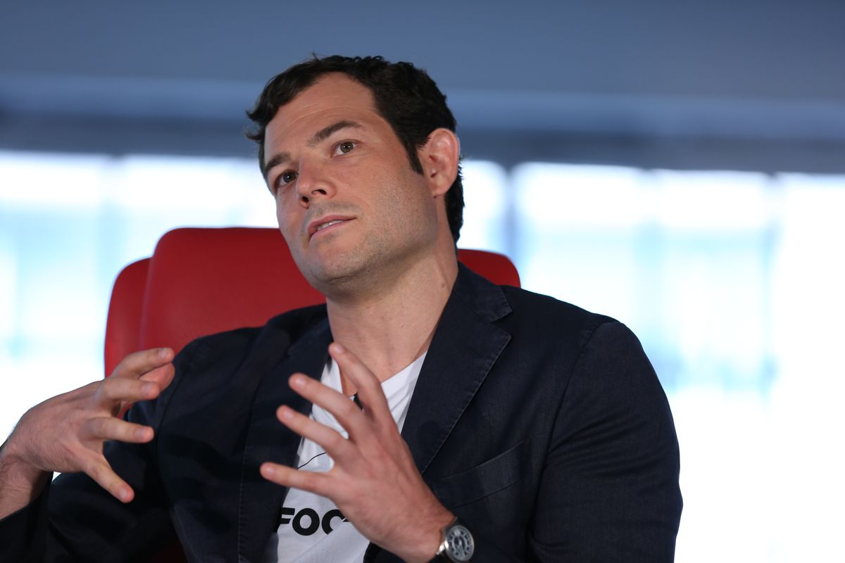 Pinterest President Tim Kendall onstage at Code Commerce 2017
