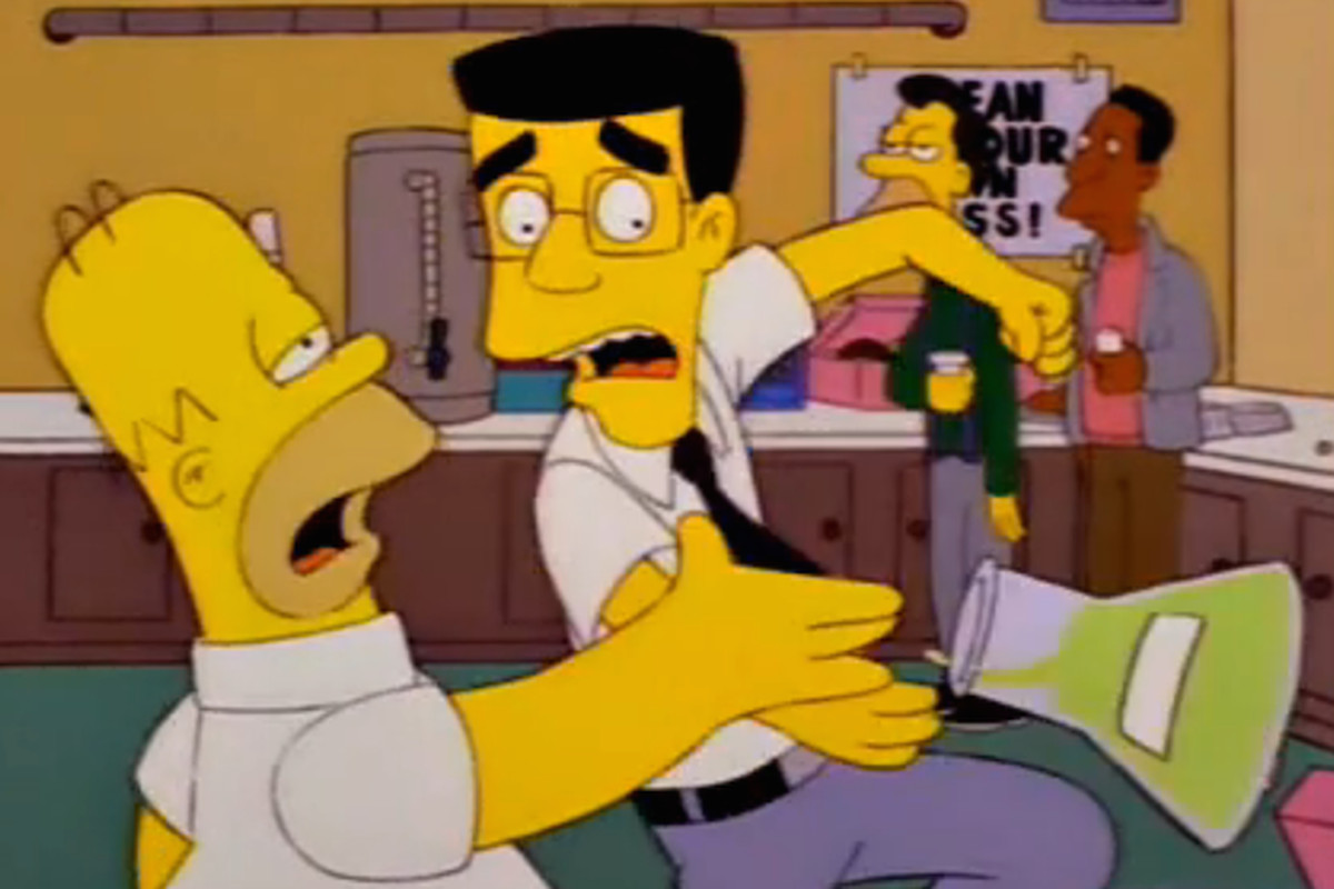 The Simpsons' jumped the shark in one of its best episodes