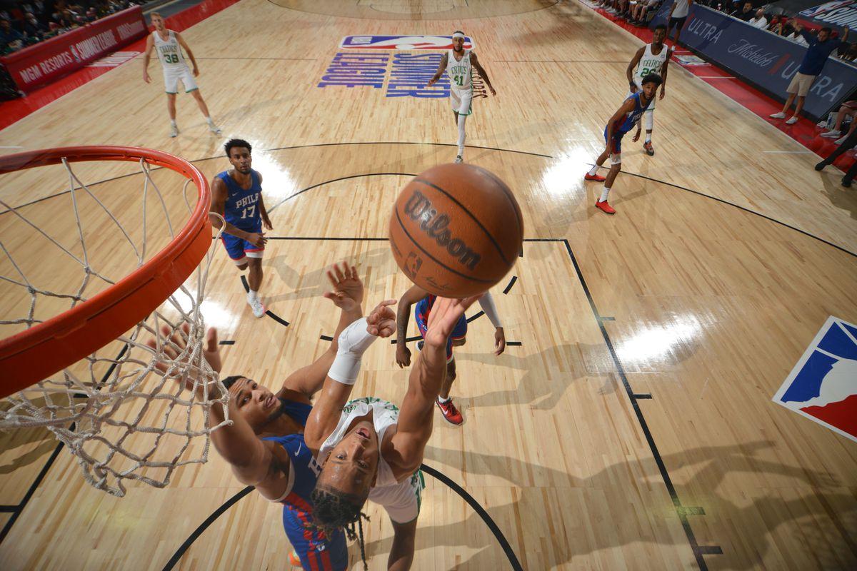 2021 Las Vegas Summer League - Philadelphia 76ers v Boston Celtics