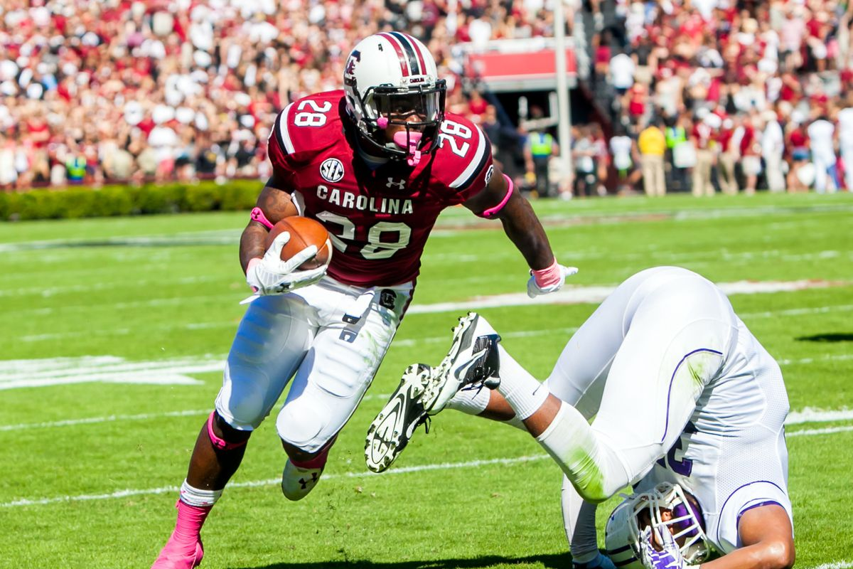 Mike Davis and the Gamecocks left Furman looking hapless on Saturday.