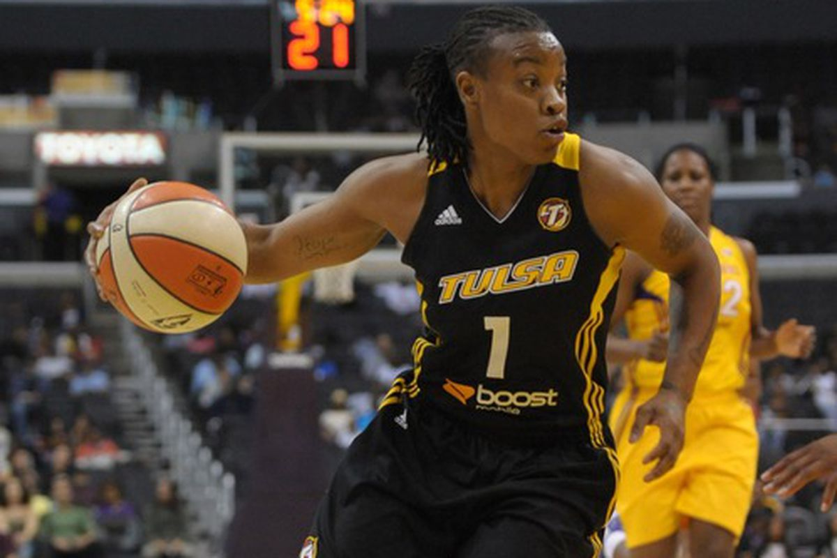 Riquna Williams was a difficult prospect to figure out statistically, but has excelled in the WNBA.
