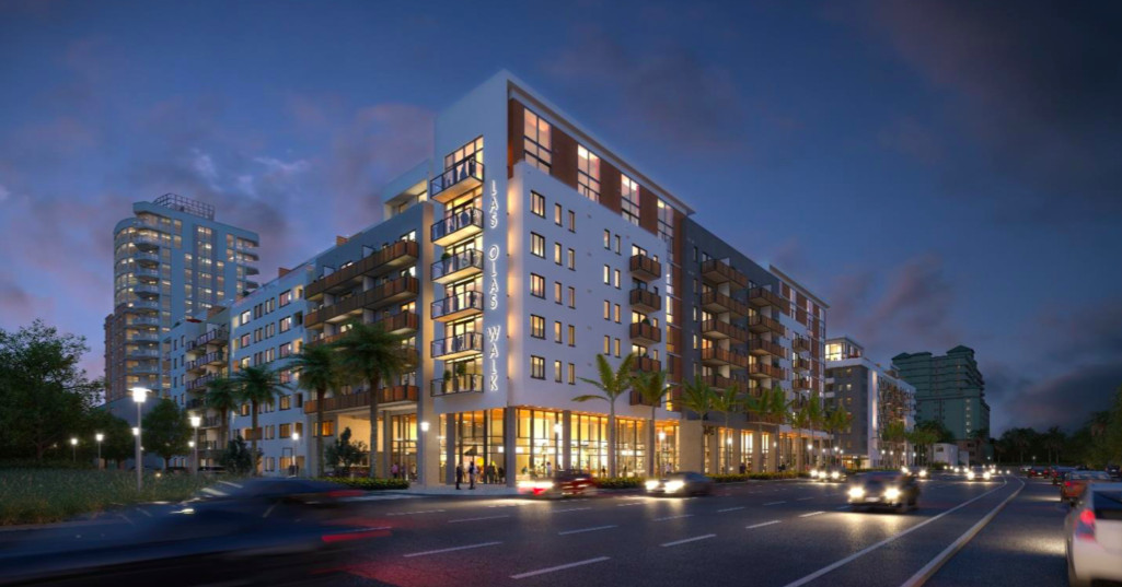 Apartment Project Las Olas Walk Is Breaking Ground In