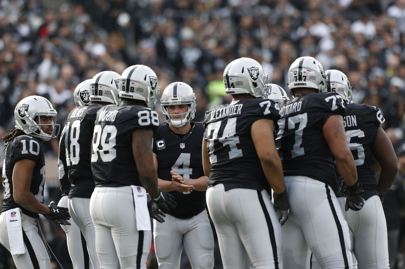Hypothetical Oakland Raiders 'protected players' list