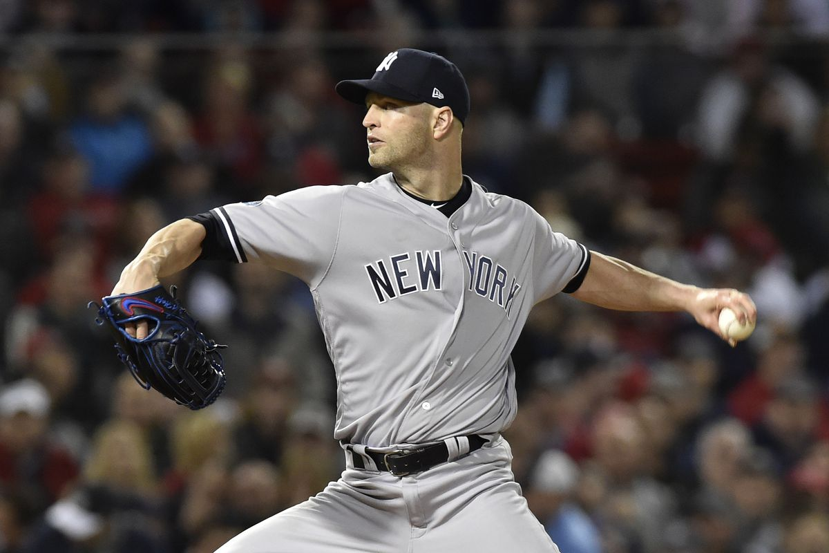 Photo by Bob DeChiara-USA TODAY Sports. The Yankees have agreed in  principle with J.A. Happ on ... a3b9c6b3861