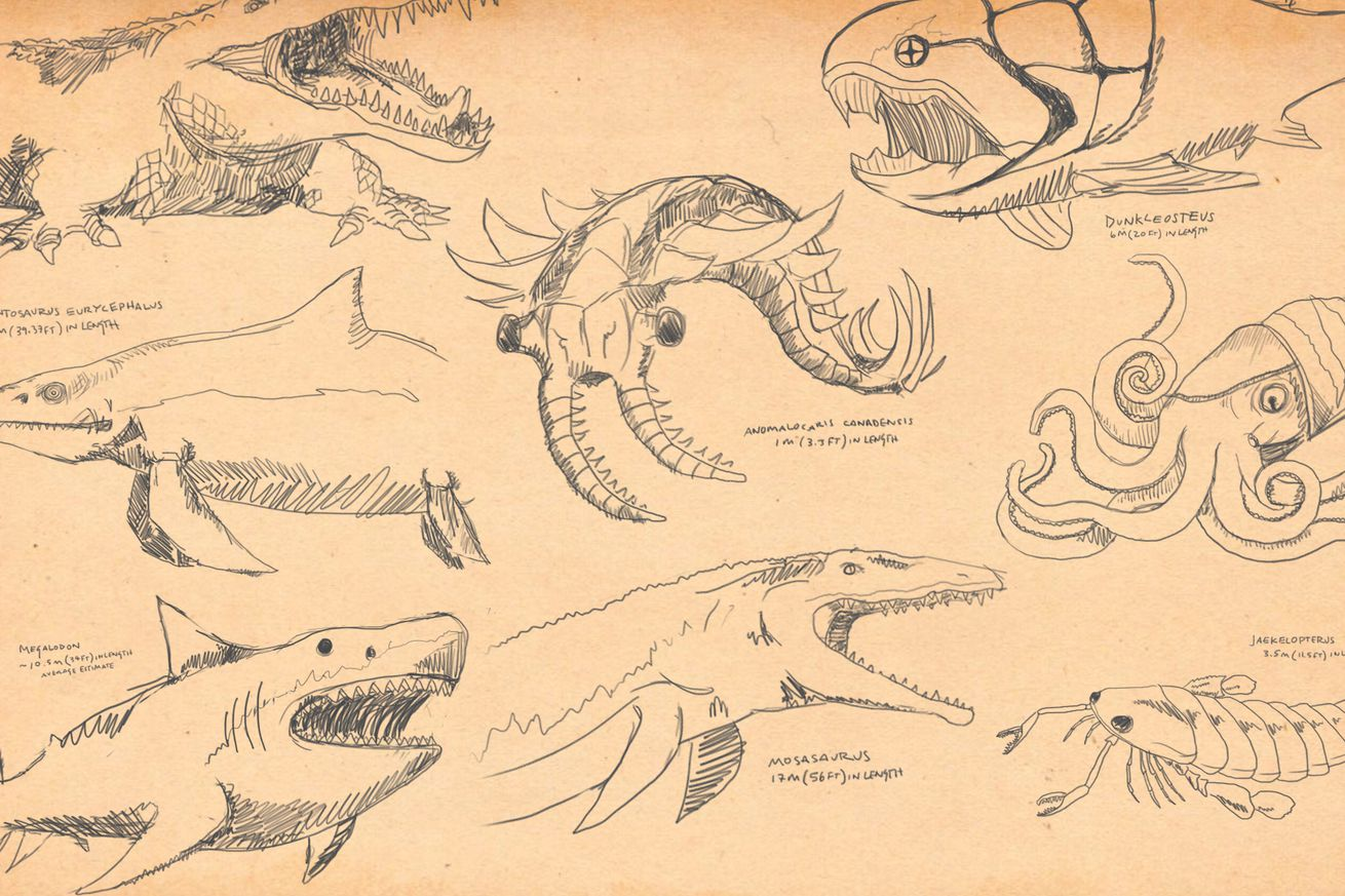 SeaMonsters cover.0 - Here are 9 of the most badass animals ever to swim