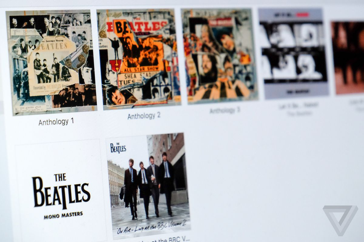 These Beatles albums still can't be streamed on Spotify or Apple