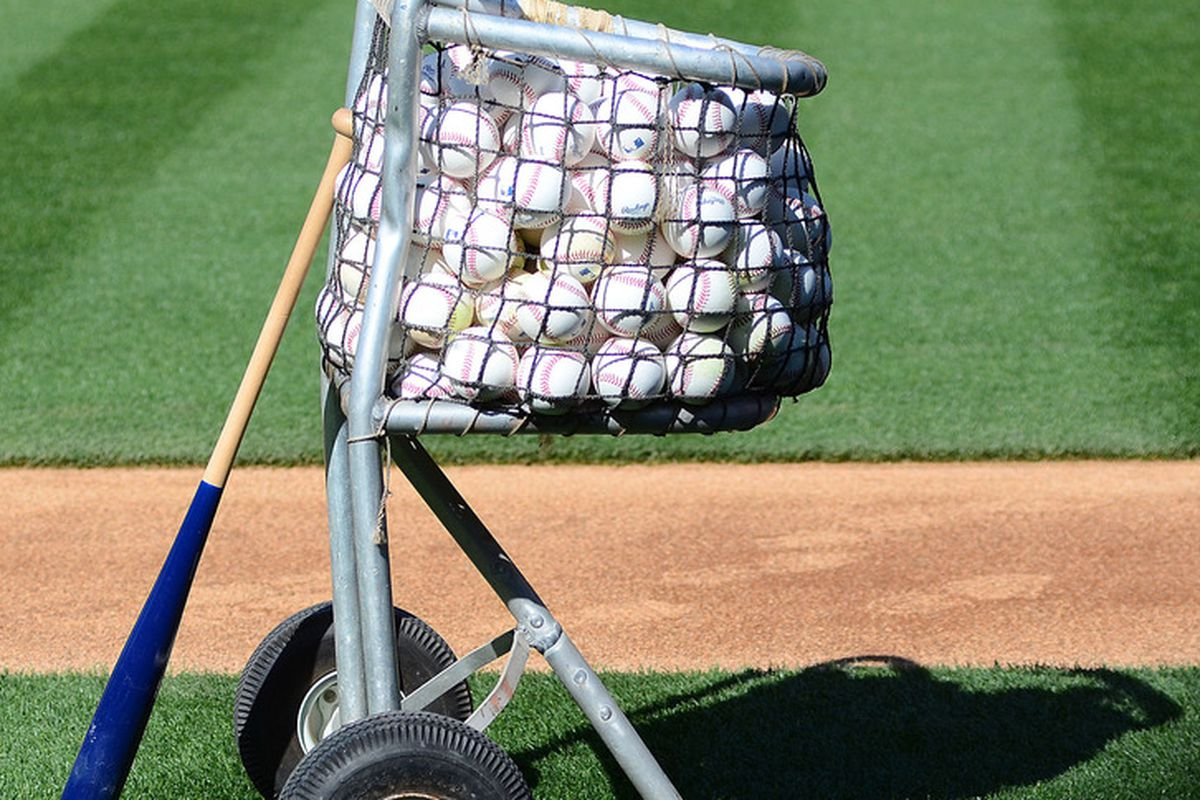 The Dodgers had a basket of balls batting 6th in their line up.  It went 2-4.