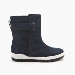"United Nude 'Montana' boots, <a href=""http://www.unitednude.com/montana-navy-white-black-split-suede-2272"">$269</a>"