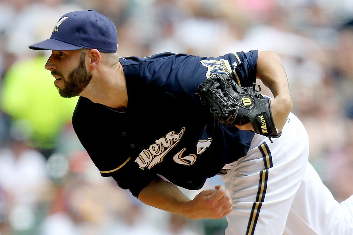 Mike Fiers is comin' to getcha (Photo by Mike McGinnis/Getty Images)