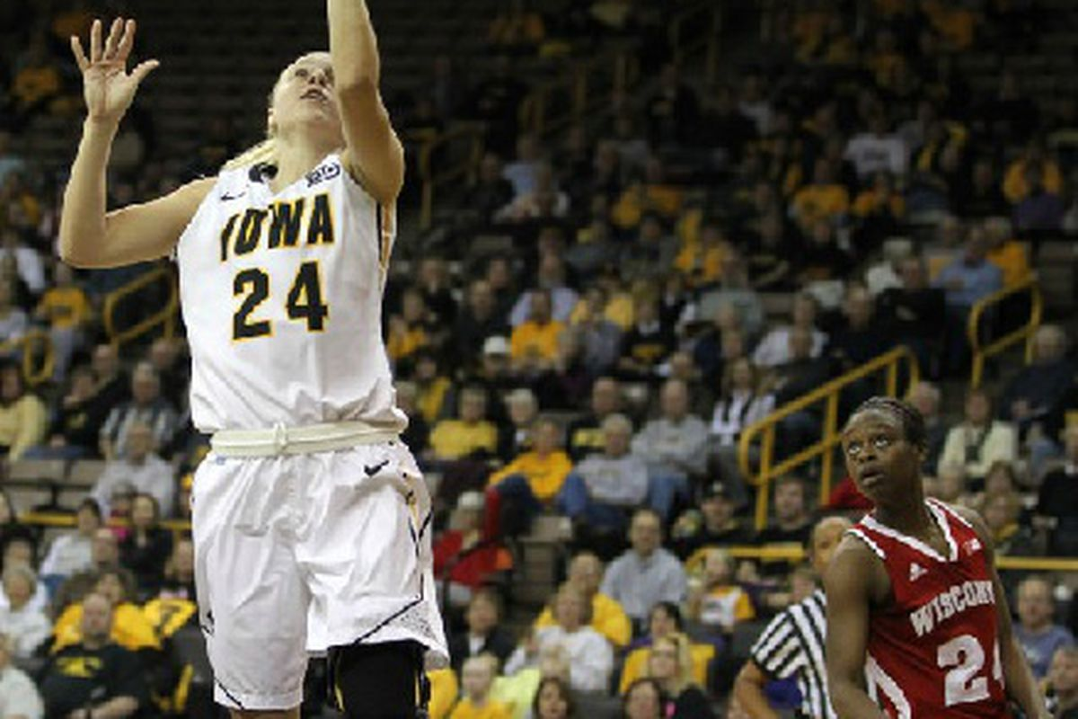 Wisconsin was no match for Jaime Printy and her cyborg leg.