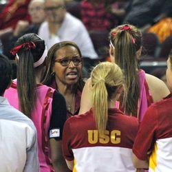 Cynthia Cooper-Dyke implores her team.