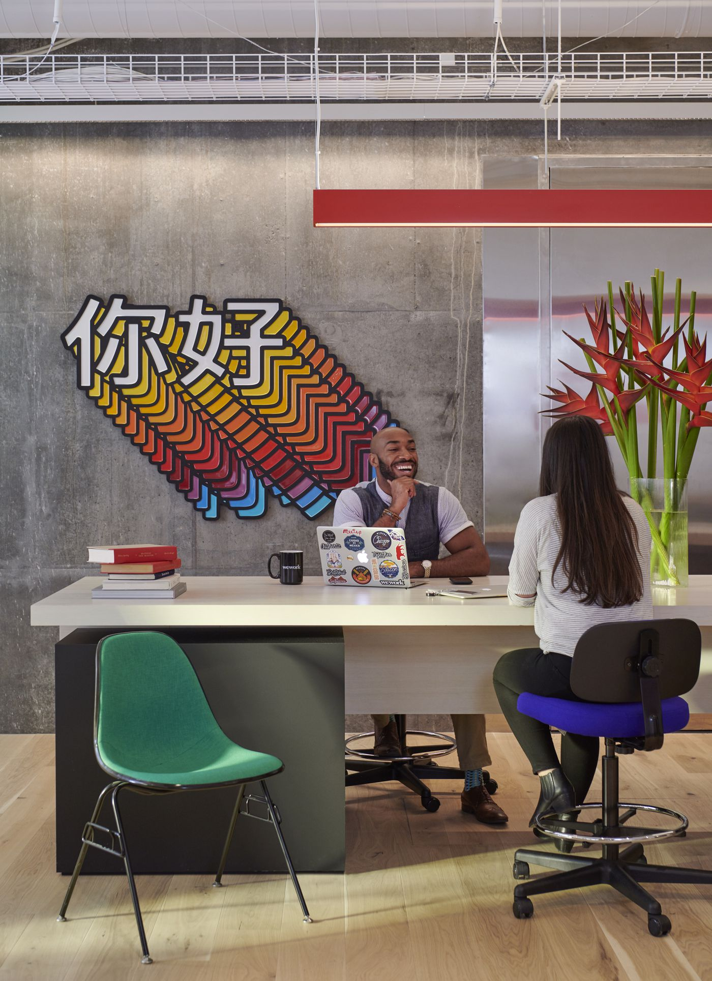 WeWork, home to freelancers and startups, is taking coworking