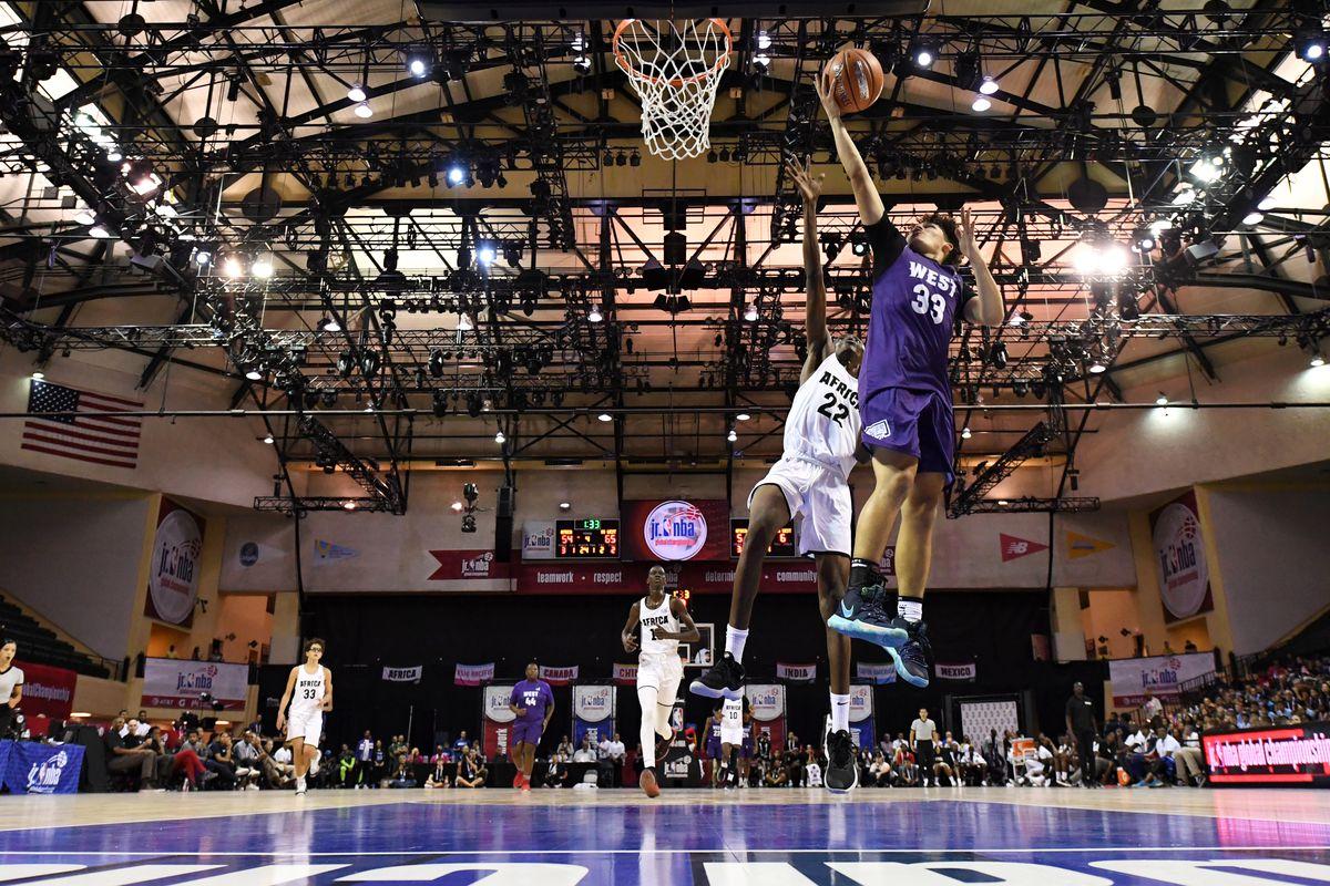 Jr. NBA Global Championships - Africa Boys v U.S. West Boys