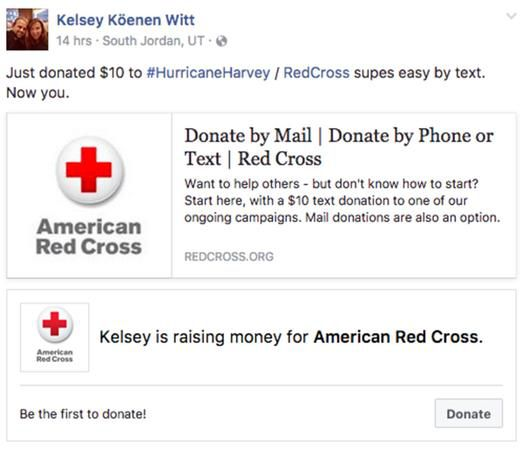 Help victims of Hurricane Harvey by using social media and