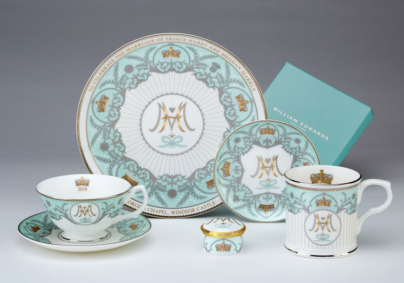 Why Harry and Meghan-Themed China Is THE Royal Wedding Merch