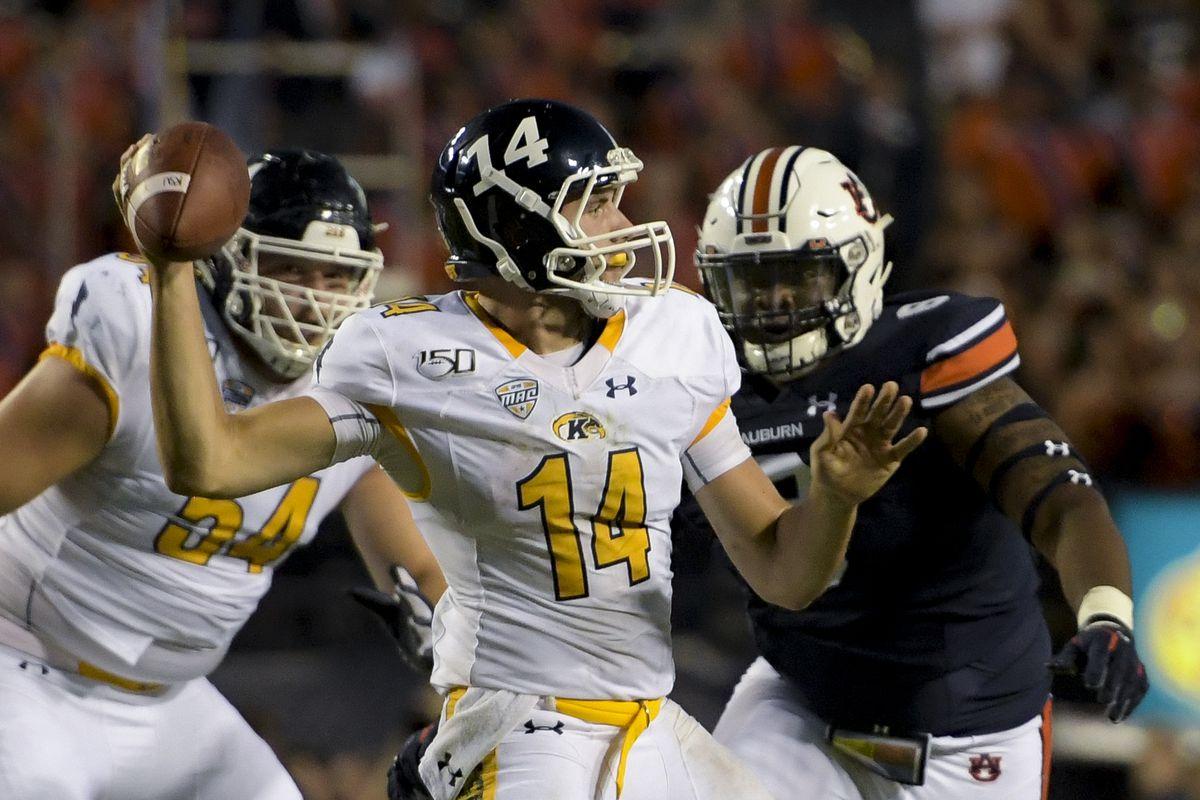 NCAA Football: Kent State at Auburn