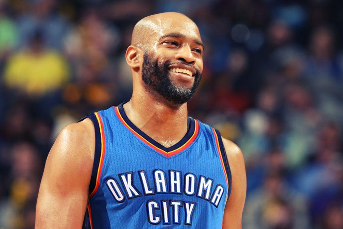 Could Oklahoma City be e final stop for Vince Carter Wel e