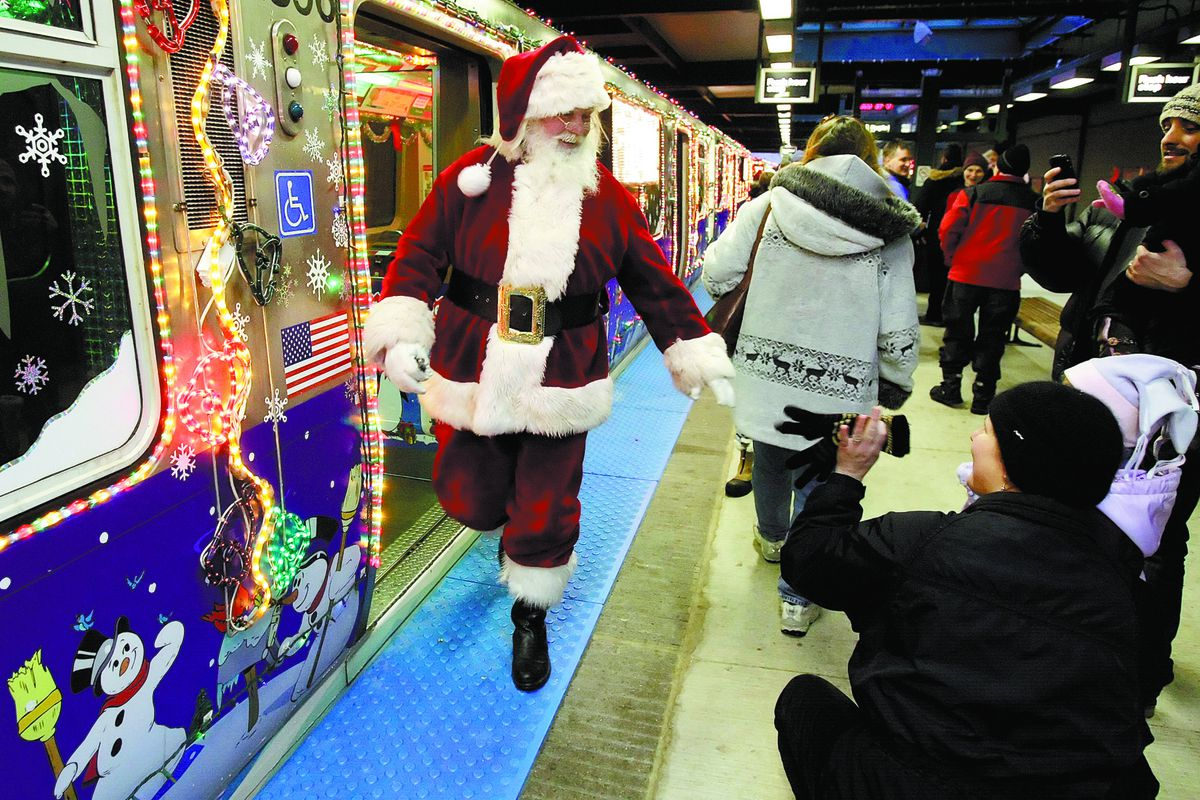 The Allstate CTA Holiday Train will be on its merry way starting Friday, Nov. 29.