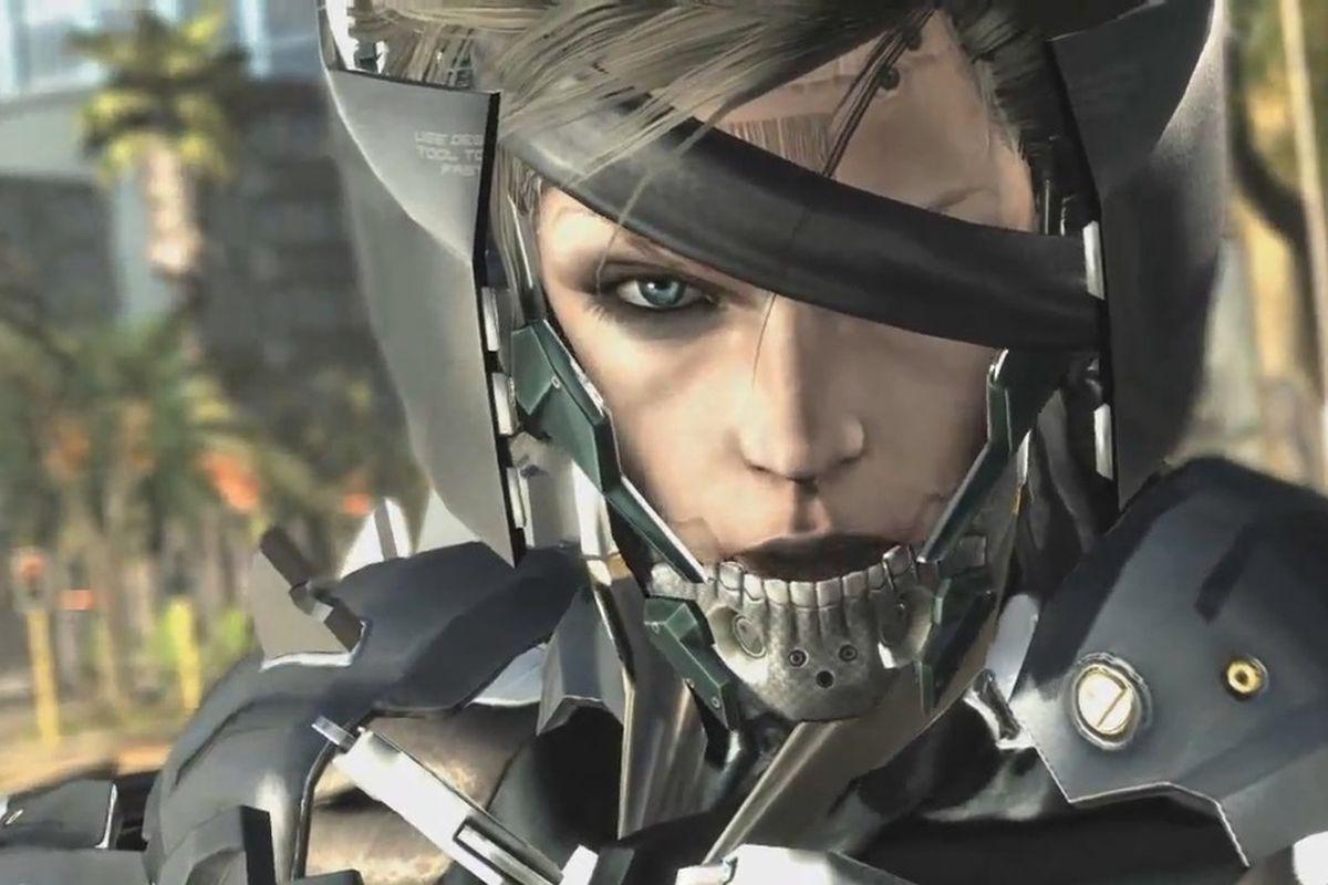 Raiden Wasnt Kojimas Pick For Metal Gear Rising Revengeance