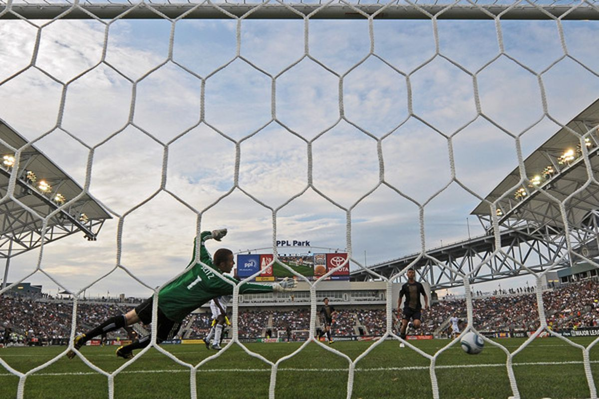 A site seen too often in the Philadelphia Union's inaugural season.  Sadly, that pun's intended.