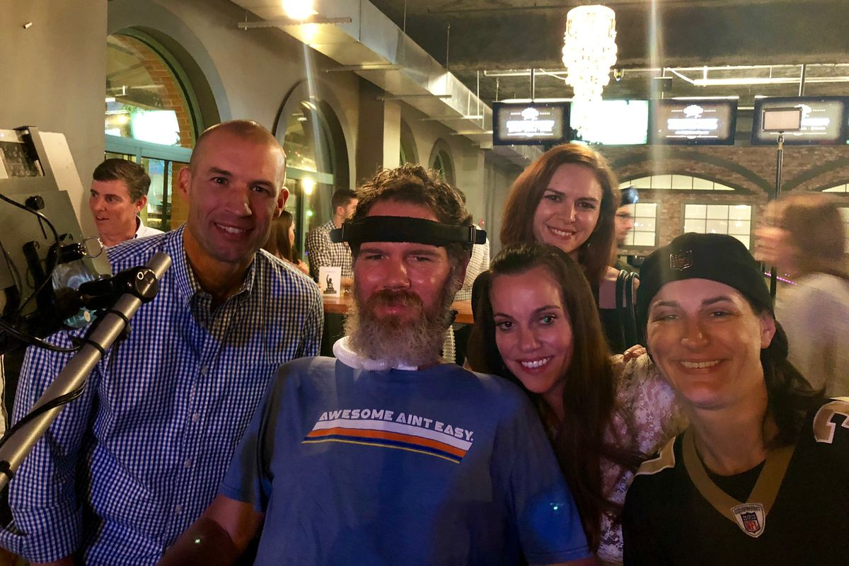 Steve Gleason S 41st Birthday Party Was Awesome And So Is