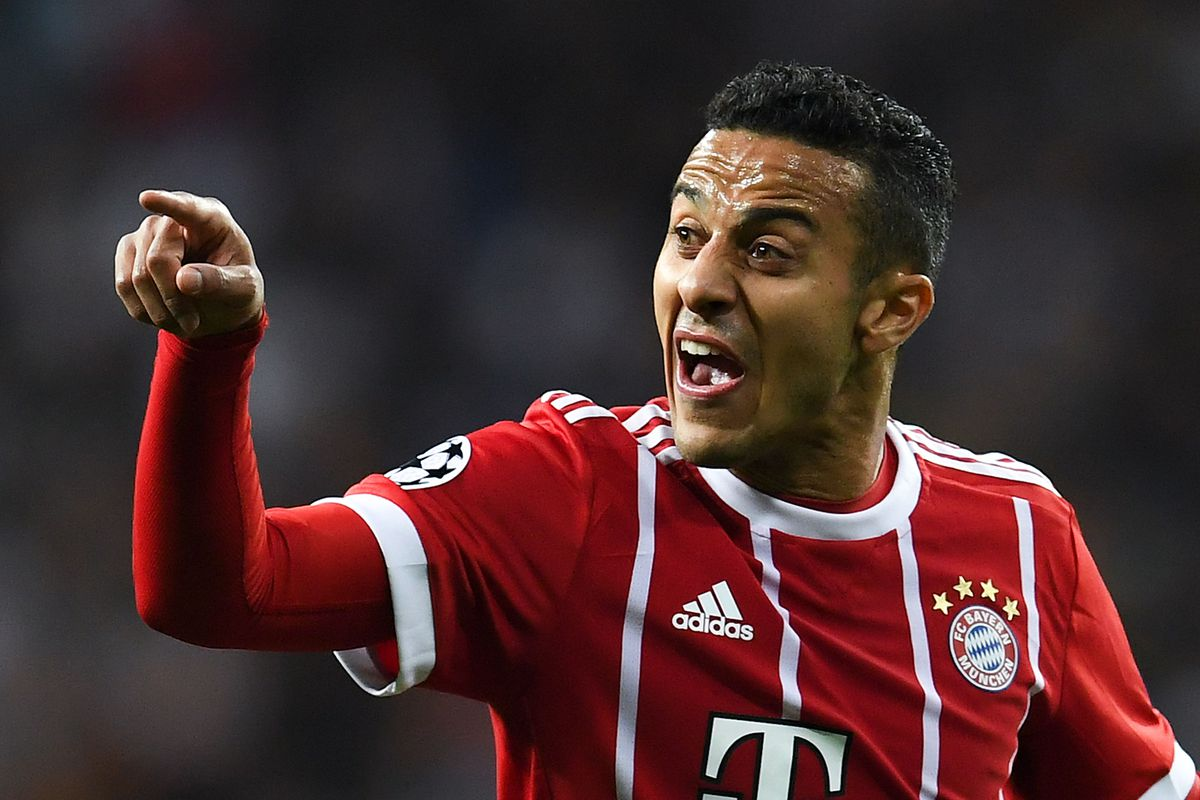 Bundesliga | Thiago Alcantara: 10 things on Bayern Munich ...