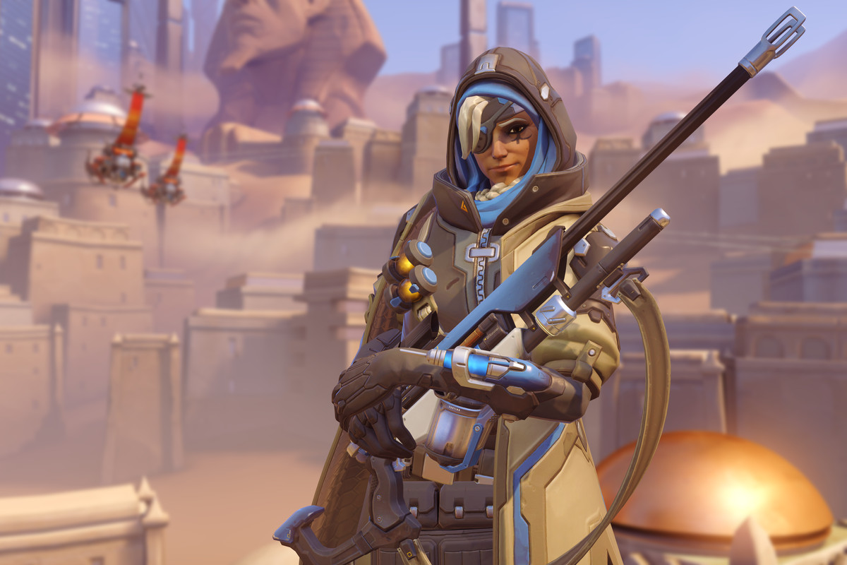Overwatch introduces a new Ana short story, skin, and ...