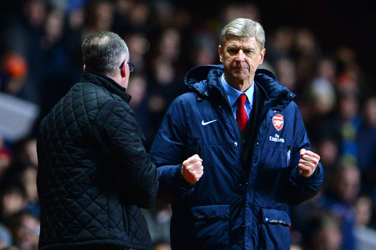 """Wenger says """"non"""" to your transfer rumors."""