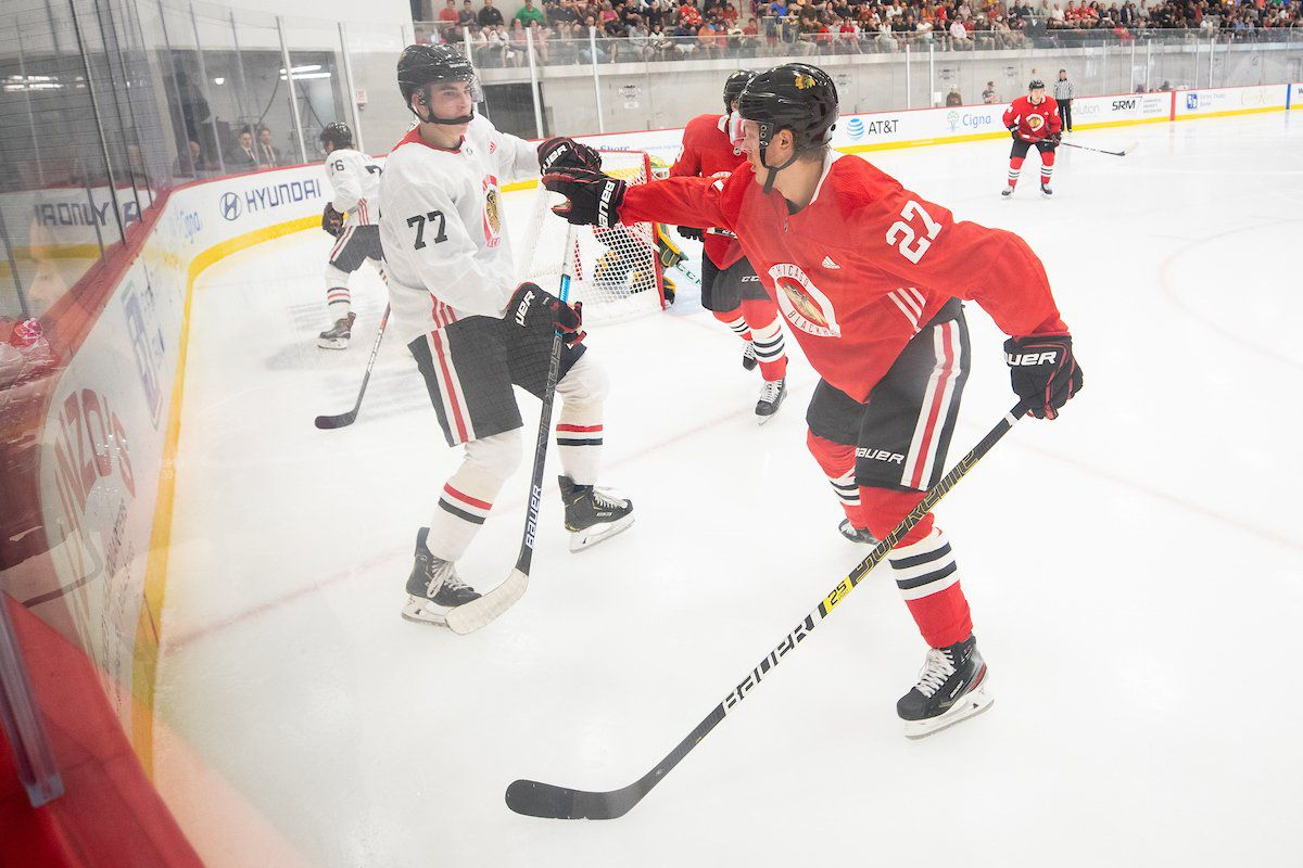 2019 NHLPA Rookie Showcase: Blackhawks' Boqvist, Dach to attend