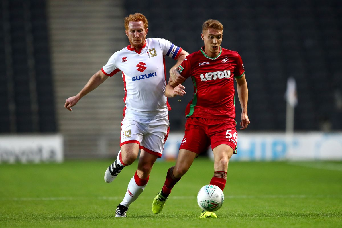 Milton Keynes Dons v Swansea City - Carabao Cup Second Round