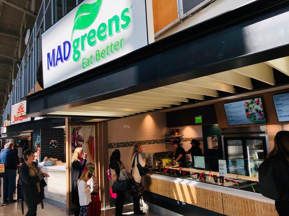 Mad Greens' Austin airport location