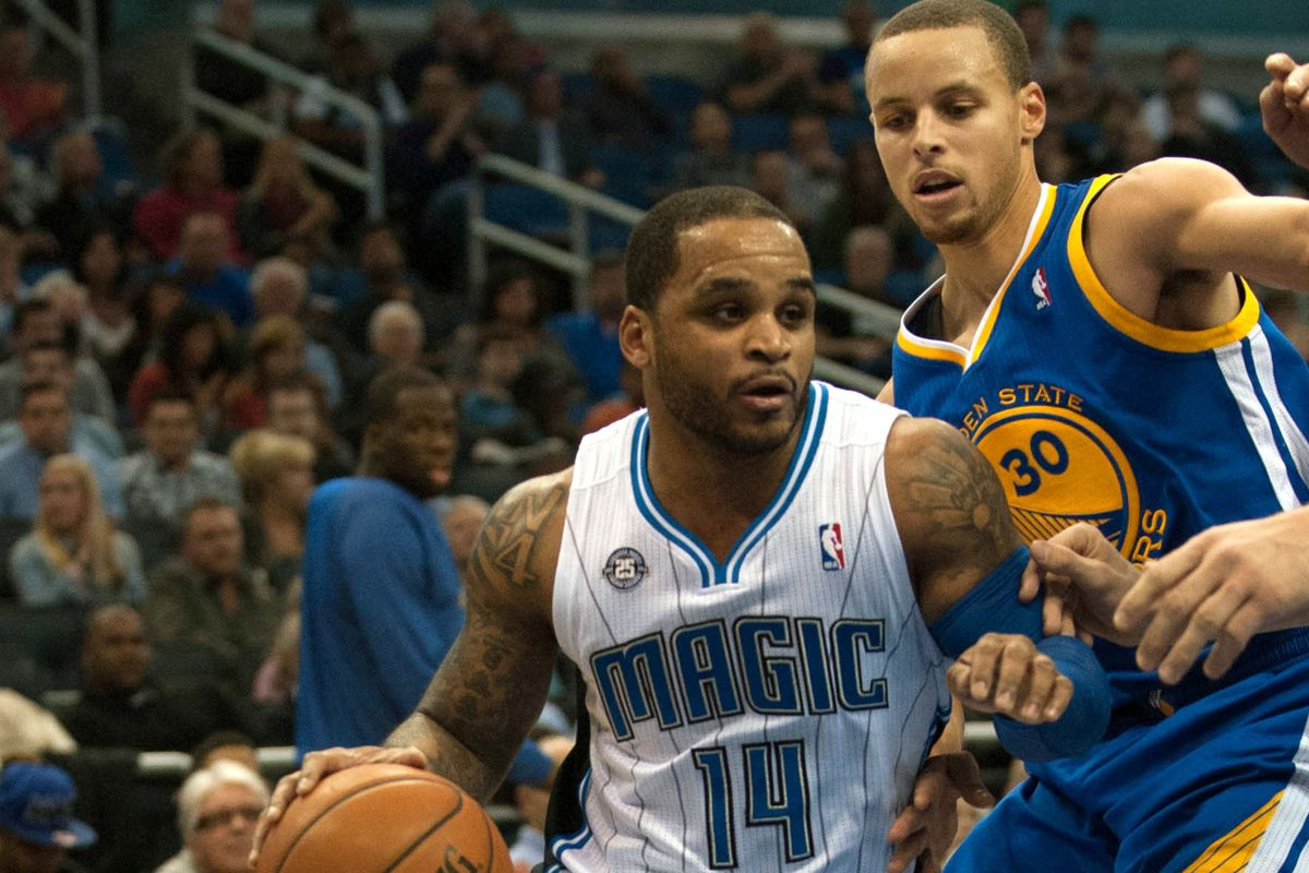 Jameer Nelson and Stephen Curry