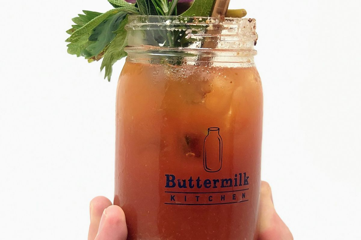 Bloody Mary at Buttermilk Kitchen