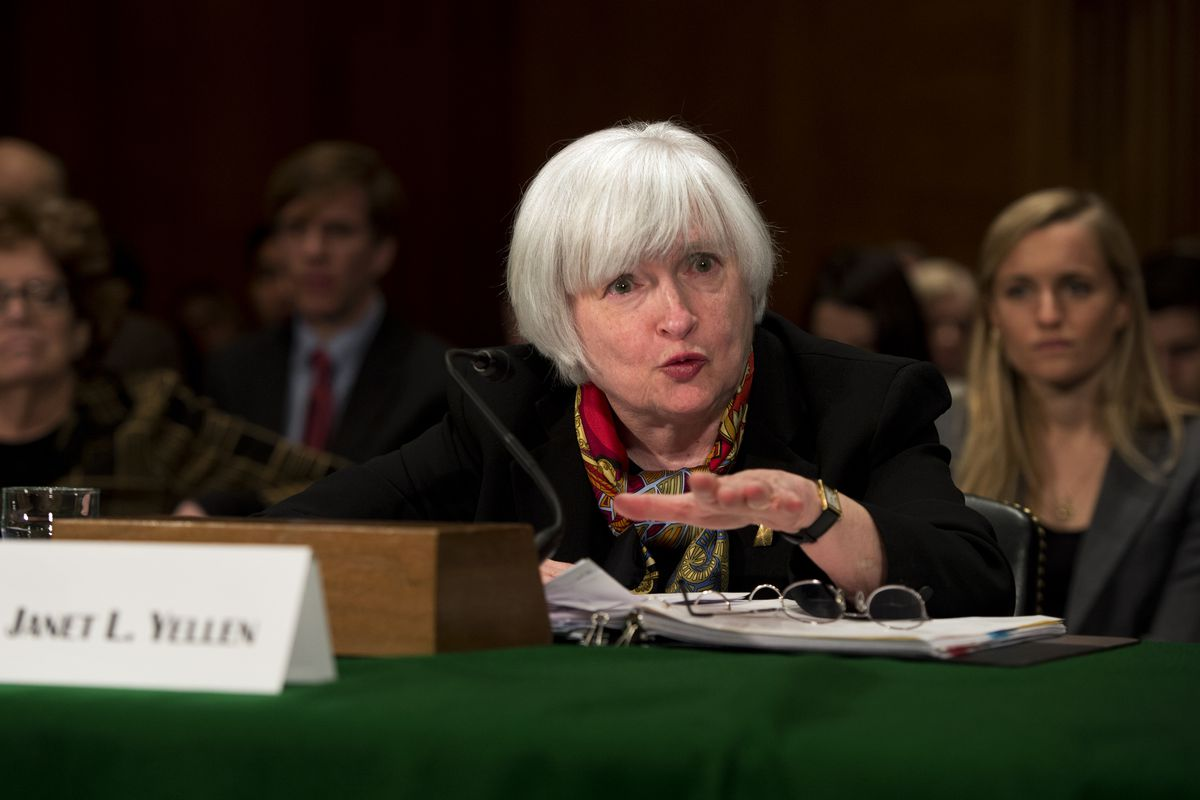 Janet Yellen and her fellow FOMC members are keeping the taper steady.