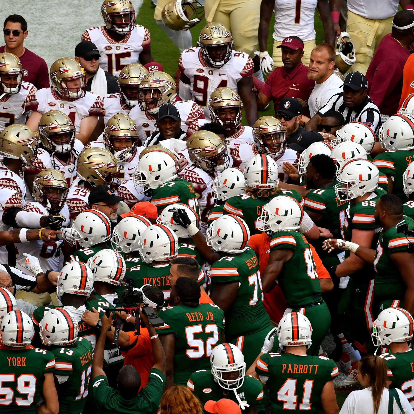 Who Exactly Are Miami S Rivals State Of The U