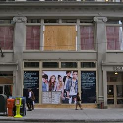 American Eagle shows its new face in Soho.