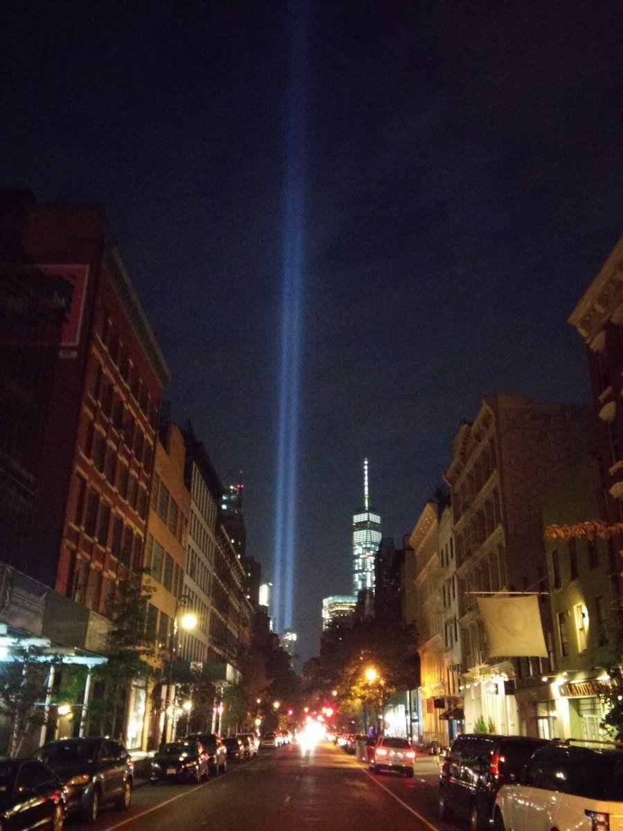 9-11 Tribute in Light