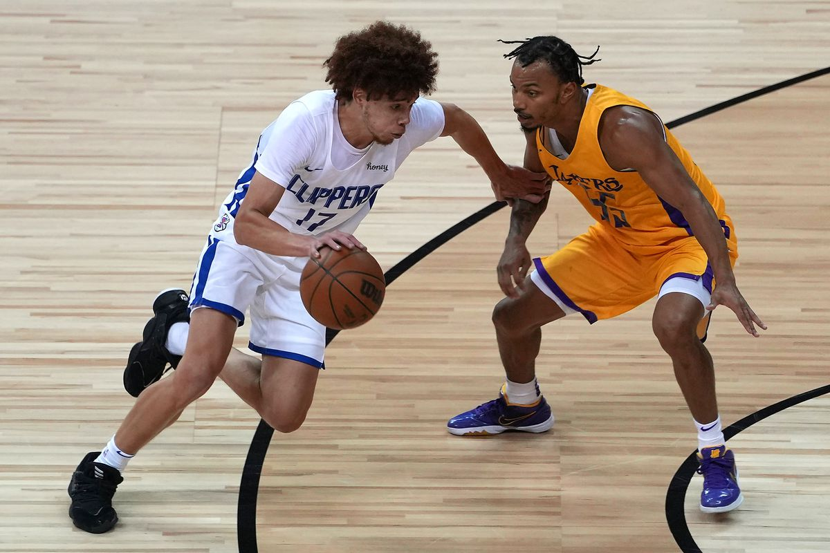 NBA: Summer League-Los Angeles Lakers at Los Angeles Clippers
