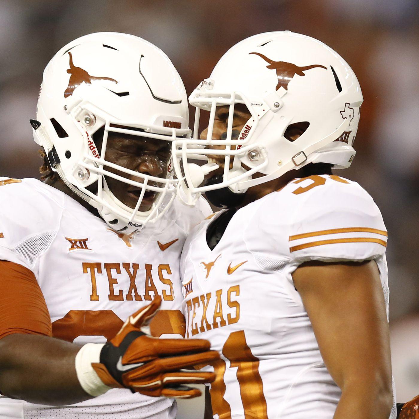 The freshmen invasion texas longhorns football depth chart for