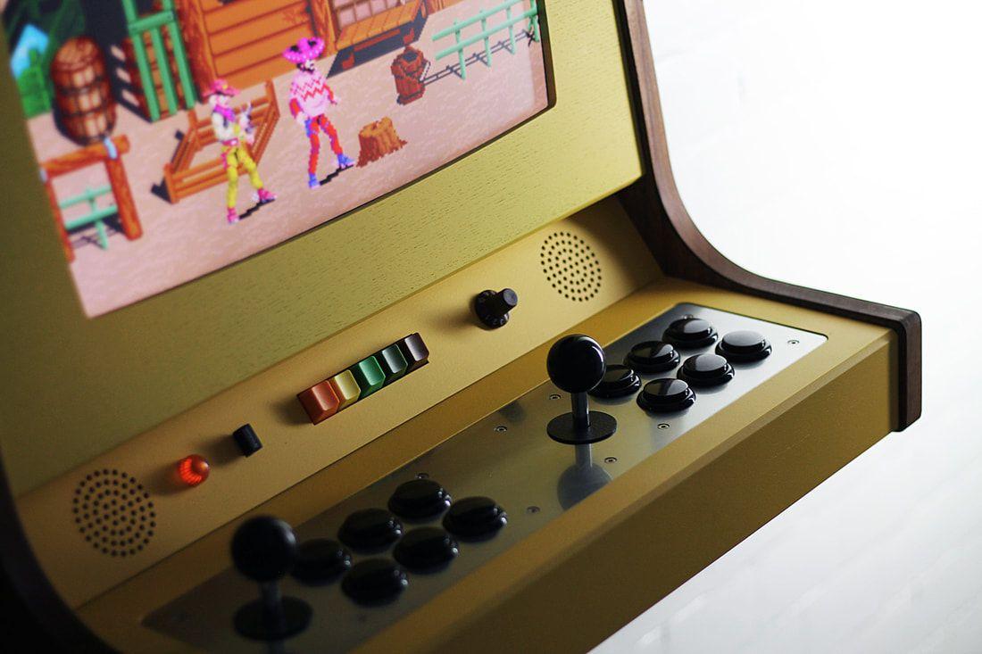 The OriginX is a beautiful, custom-made arcade cabinet for